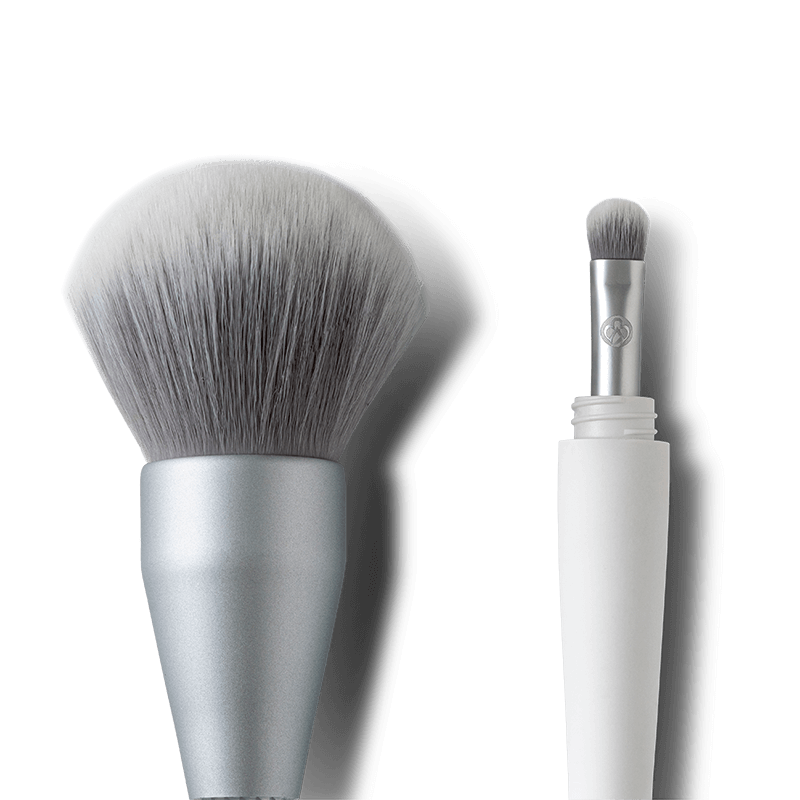 2-in-1 Makeup Brush A